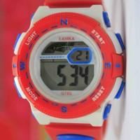 Jam tangan anak sd laki perempuan anti air keren murah terbaru lasika,