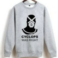 jaket/hoodie/hoodies/switer X-MEN/CYCLOPS WAS RIGHT