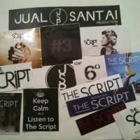sticker band the script