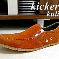 Sepatu Slip On Pria Kickers Bonder