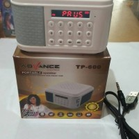 harga Speaker Aktif Tp 600 Advance Tokopedia.com