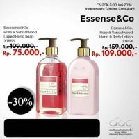 Liquid HandSoap / Hand Soap / Sabun Cair Cuci Tangan Rose&Sandalwood