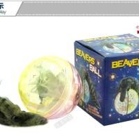 harga Mainan Unik Menyala & Memutar Di Atas Air - Beavers Ball Tokopedia.com