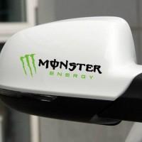 Aksesoris Stiker Spion Mobil Monster Energy Keren Car Decal Sticker