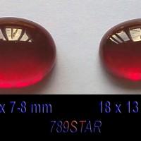 harga Batu Merah Siam Atau Merah Delima Hq Oval Man Size Tokopedia.com