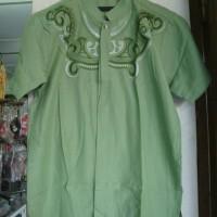 Baju Koko Lengan Pendek Kode : BKD-050 Hijau