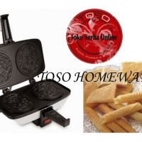 harga AKEBONNO EGG ROLL TOASTER TH-L5 Cetakan Kue Semprong Egg Roll Maker Tokopedia.com