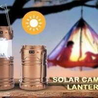 LAMPU LENTERA SOLAR / LAMPU EMERGENCY SOLAR PANEL (recharge / battery)