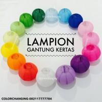 lampion gantung / hanging lantern 25 cm