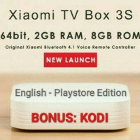 Jual {Playstore} Xiaomi Hezi Mi Box 3S Enhanced 4K Android Smart TV 3 Murah