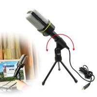 Multi Mic Microphone Rekaman Latihan Vokal & Instrumen Video Chat Game