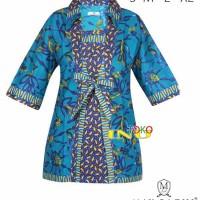 Batik Wanita Sarimbit Bahan Cotton Max Baghi 2098 Tokoinu