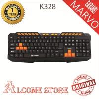Keyboard gaming marvo k328 garansi resmi