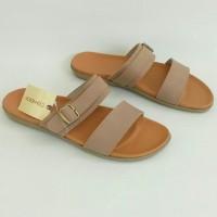 Sandal Flat CONNEXION 2AG58SM_ORIGINAL, Sandal Wanita, Sandal Branded