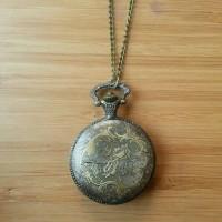 Jam Kalung Antik Vintage Pocket Watch