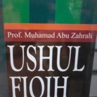 ushul fiqh (abu zahro)