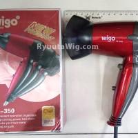 WIGO W-350 / Hair blow dryer pengering rambut mini travel