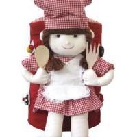 harga Sarung galon cantik koki cewek merah Tokopedia.com