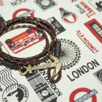 harga gelang kulit jangkar gold Tokopedia.com