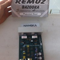 harga Kit / Rangkaian Subwoofer Amplifire Remuz Bazooka Basoka Tokopedia.com