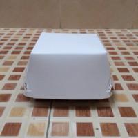 Paper box burger/ Tempat burger Polos