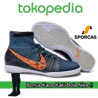 harga GRATIS KAOS KAKI !! Sepatu Futsal | Nike Elastico Superfly Street Navy Tokopedia.com