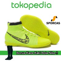 harga Gratis Kaos Kaki Bola !! Sepatu Futsal | Nike Elastico Superfly Street Tokopedia.com