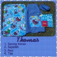 Sarung Peci Instan Anak Karakter Thomas XXL (10-12Tahun)