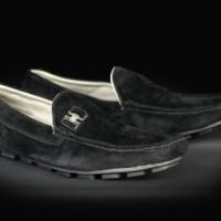 Sepatu Pria Slip On Santai Hurley Slop - FREE 1PASANG KAOS KAKI #1