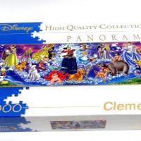 Clementoni Jigsaw Puzzle Panorama Disney Family 1000 Pcs