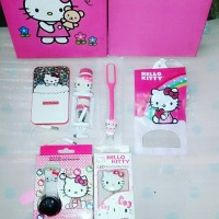 PAKET TONGSIS KARAKTER / PROMOSI PAKET POWERBANK HELLO KITTY