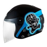 harga Helm Milan Cartoon Doraemon & Cat Siluet Black/Blue Tokopedia.com