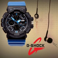 Jam G-Shock GAC110 Hitam Strap Biru | Jam Advanture Keren | Jam Keren