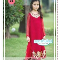 harga INDIA MARUN BIG SIZE Baju Anak Import Branded Dress Kostum Jodha Tokopedia.com