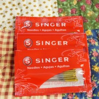 Jarum SINGER Gold Tip Needles / Jarum Emas / Jarum Anti Loncat