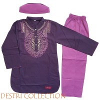 Setelan Baju Koko Anak (Tangan Panjang)