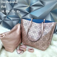 Jual TAS WANITA NEW FASHION DIOR PERFORATED BAG Murah