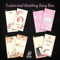 Chinese Red Envelopes in Colors  Pack of 50 in 3 Designs