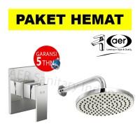 harga Aer Bundling Kran Tanam Shower Panas Dingin Ssv 01 + Wall Shower Ws-13 Tokopedia.com
