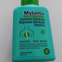Mylanta cair 50 ml kecil obat sakit maag