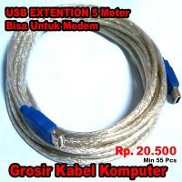 Kabel USB Extension 5 Meter Bisa Untuk Perpajangan Kabel Modem