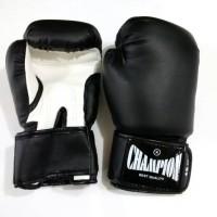 Jual Champion 12 oz Kulit Sintesis Sarung Tinju Boxing Glove MMA / Muaythai Murah