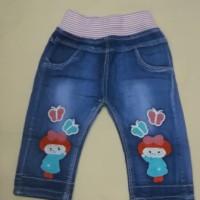 Celana Panjang Jeans Anak Perempuan, Cewek 6-24 Bulan, 1, 2 Tahun Zr02