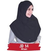 Jilbab Instan Dhikr Warna Hitam Syar'i