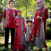 Sarimbit Busana Muslim Nibras Aplikasi Bordir
