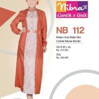 Gamis Nibras Cantik Busana Muslim NB