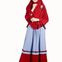 Gamis Syar'i Nibras Busana Muslim NS 01 02 03