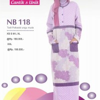Gamis Nibras Cantik Busana Muslim NB 118