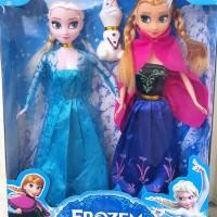 TOKO Boneka Barbie Elsa dan Olaf Terlaris || Ready Lagi