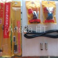 Harga paket komplit antena ht radio rig untuk mobil antena pendek | antitipu.com